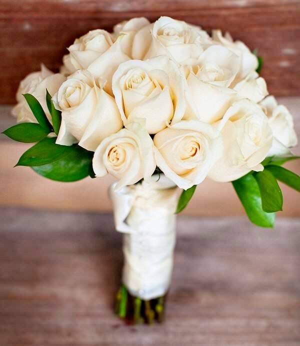 Свадебные букеты лен область #13
